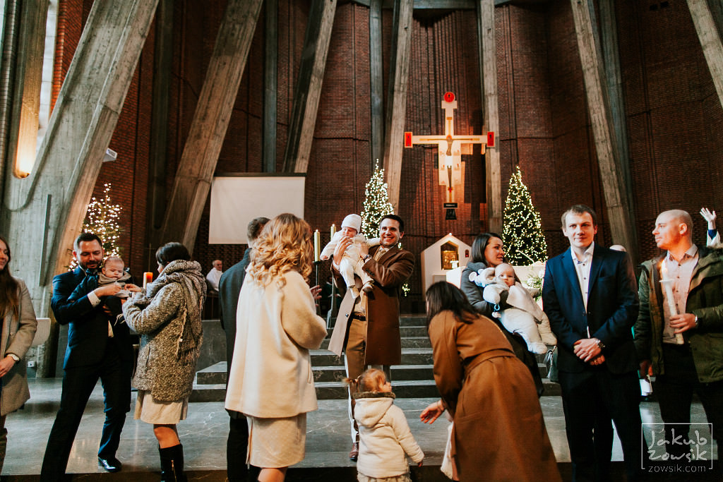 Franek | Reportaż z chrzcin | Warszawa, u Dominikanów 59