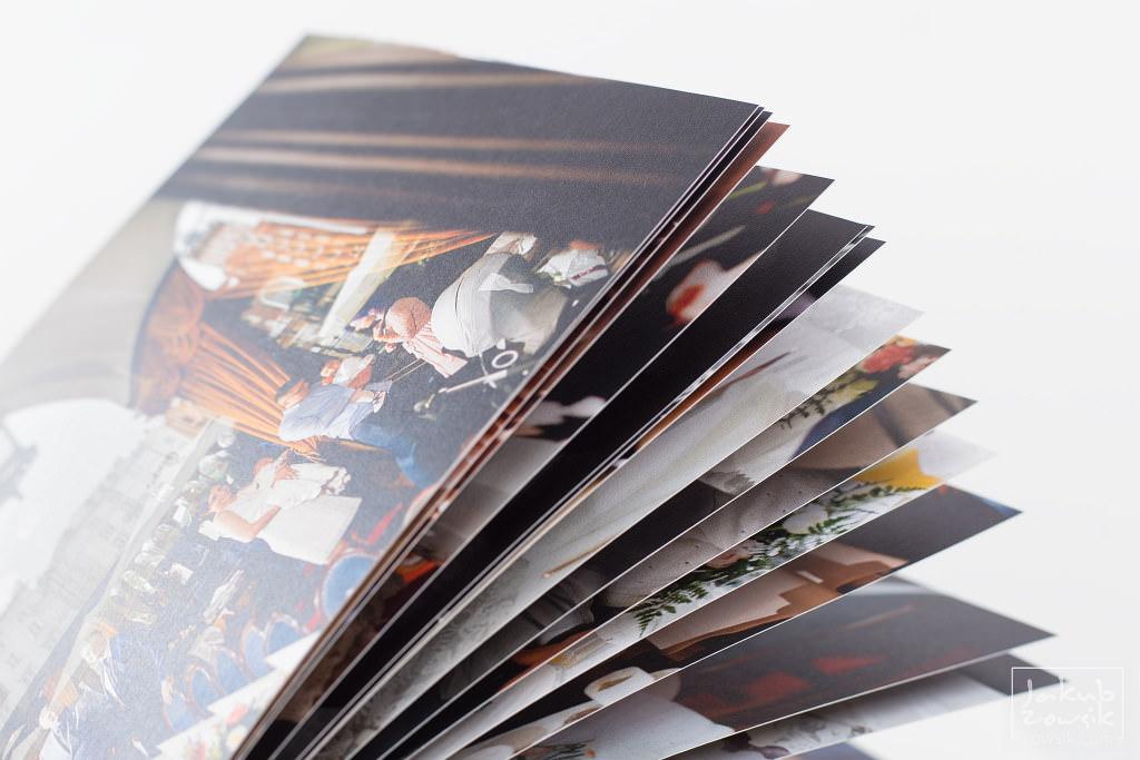 Zdjęcia z chrzcin Marietki w wyjątkowej oprawie! Fotoksiążka PRO Classic na papierze Mohawk Eggshell 25