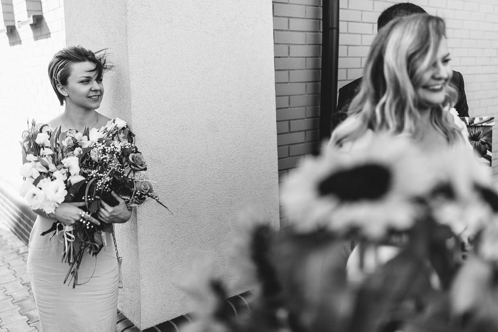 Zdjęcia ślubne u Natalii i Piotrka - życzenia po ślubie