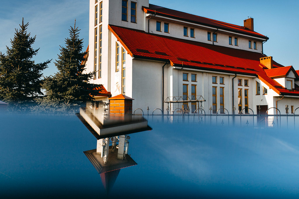 Rzymskokatolicki Kościół pw. Błogosławionych Dzieci Fatimskich, ul. Nadrzeczna 80, Wólka Kosowska