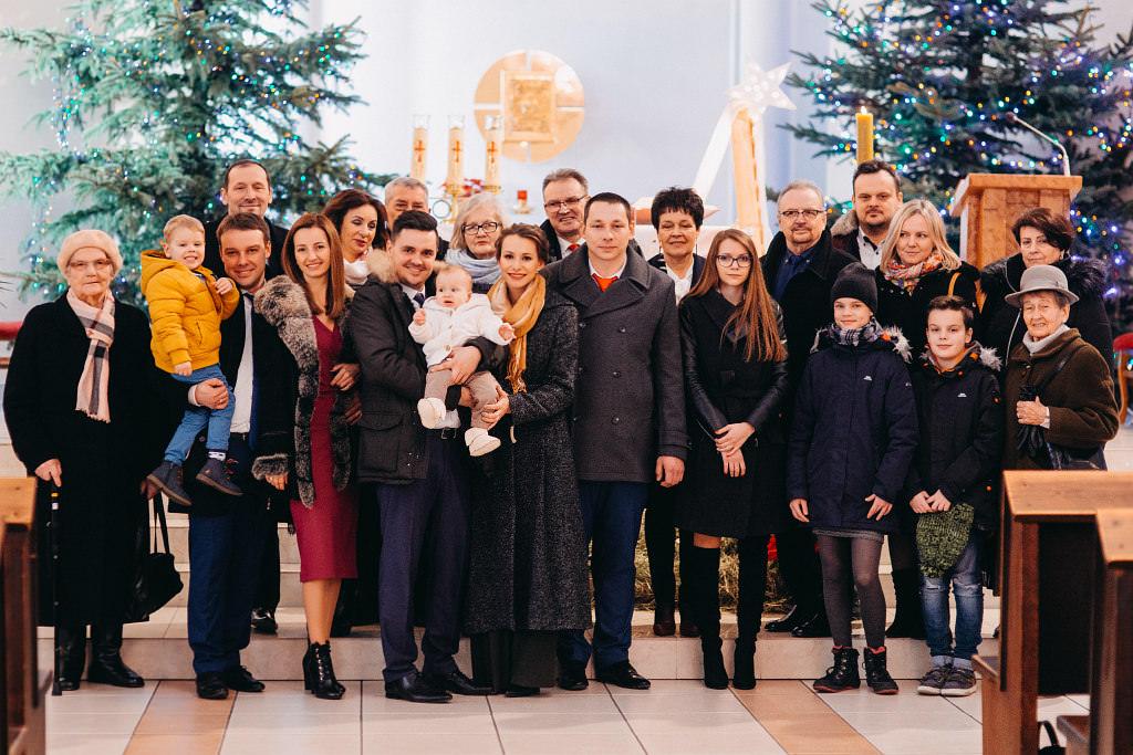 Zdjęcie grupowe na chrzcinach :)