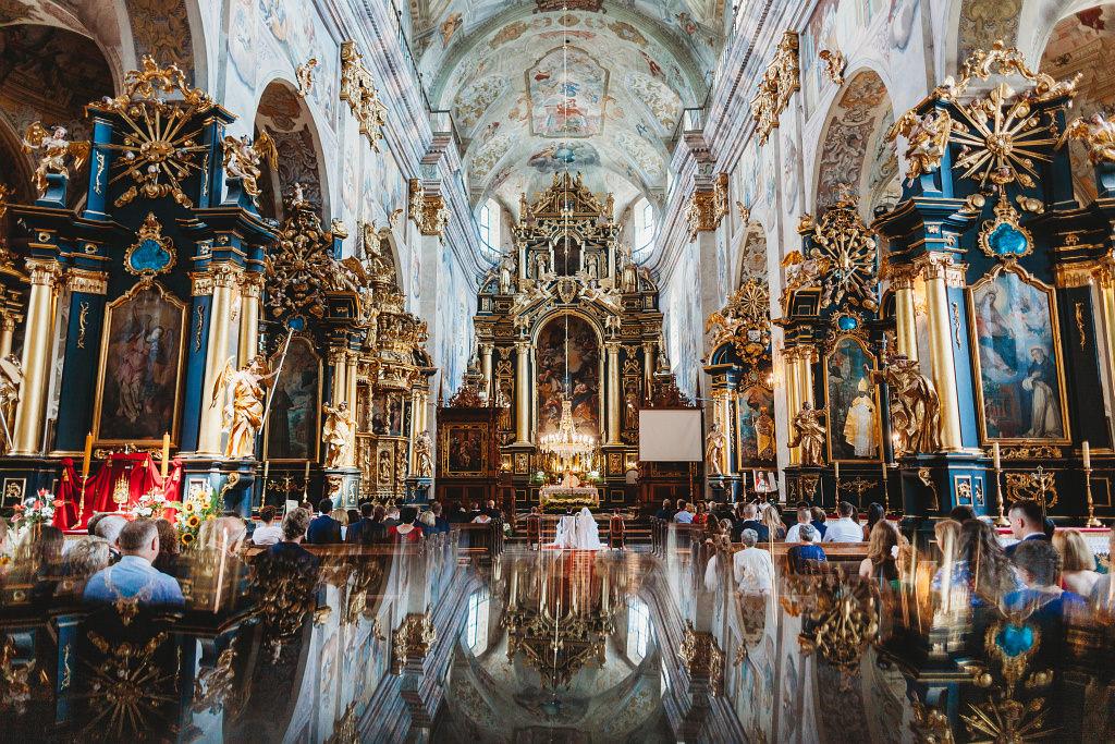 Ania & Piotrek | Leżajsk zdjęcia ślubne | Pałac w Sieniawie 25