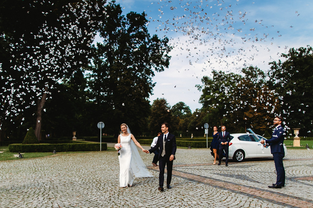 Ania & Piotrek | Leżajsk zdjęcia ślubne | Pałac w Sieniawie 52