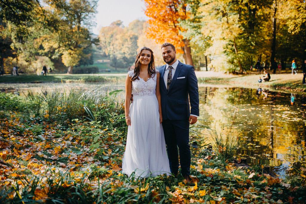 Paula & Przemek | Dwór Sulejów plenerowe zdjęcia ślubne | Reportaż 117