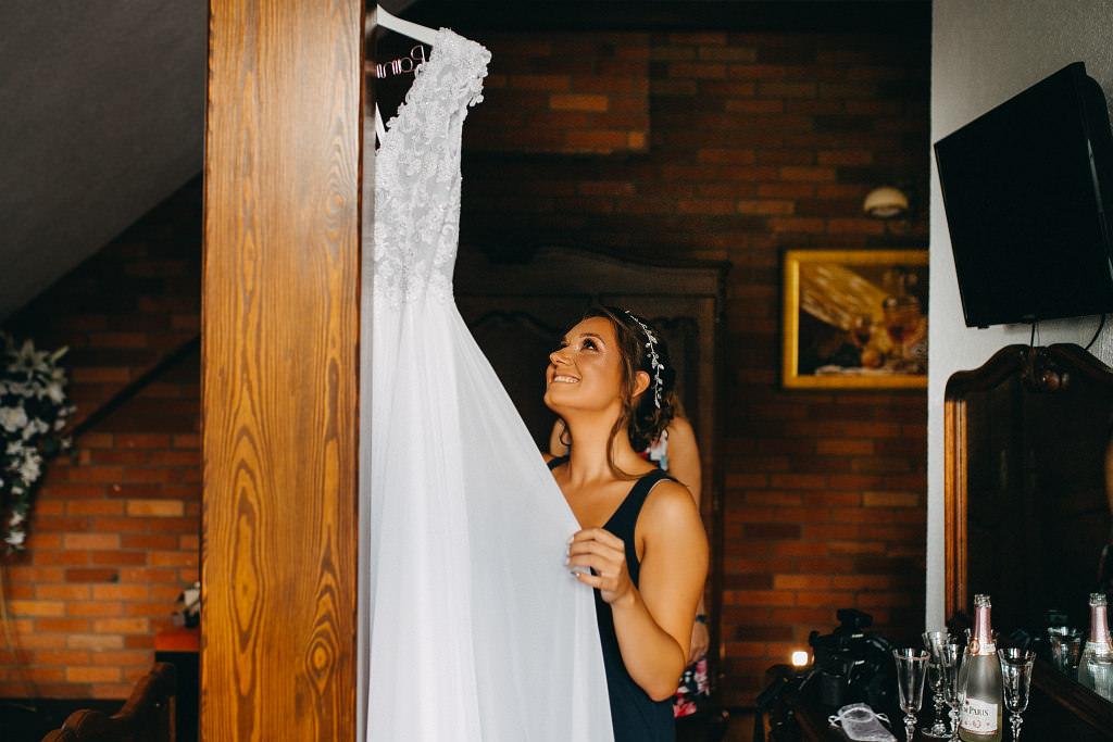 Paula & Przemek | Dwór Sulejów plenerowe zdjęcia ślubne | Reportaż 17
