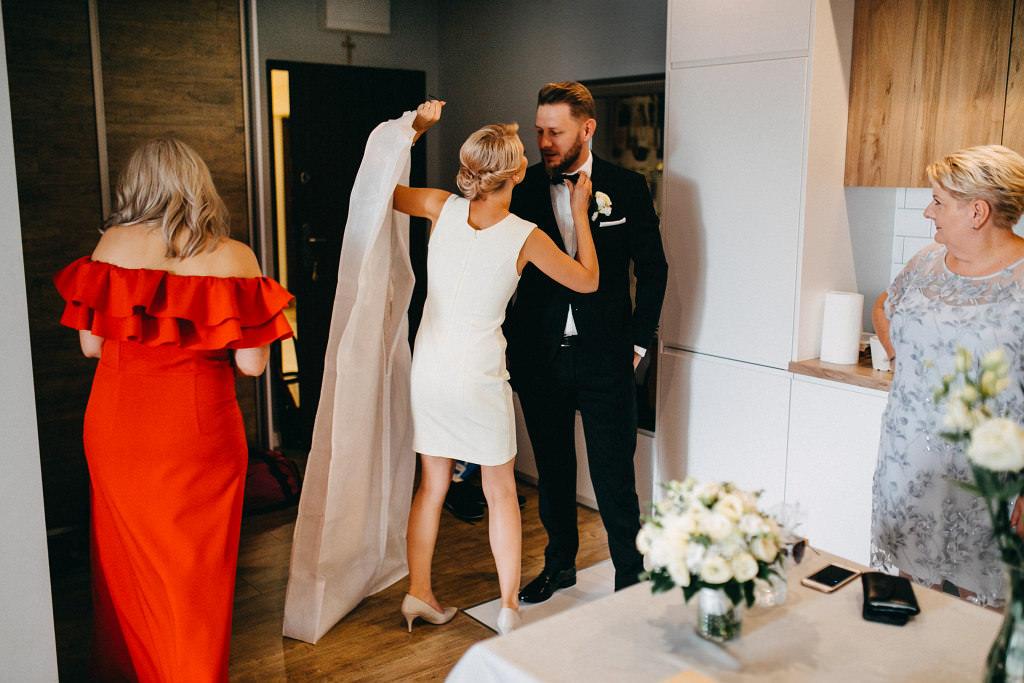 Przygotowania do ślubu Pary Młodej