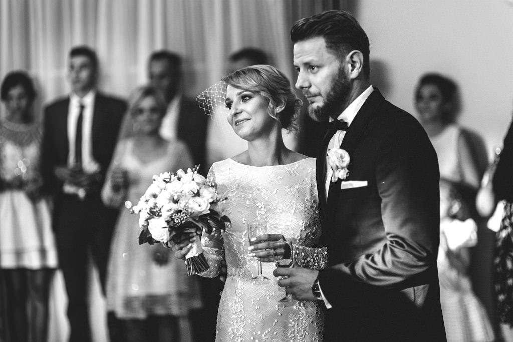 Agata & Mariusz | Sala Pod Aniołami | Reportaż ślubny Warszawa 64