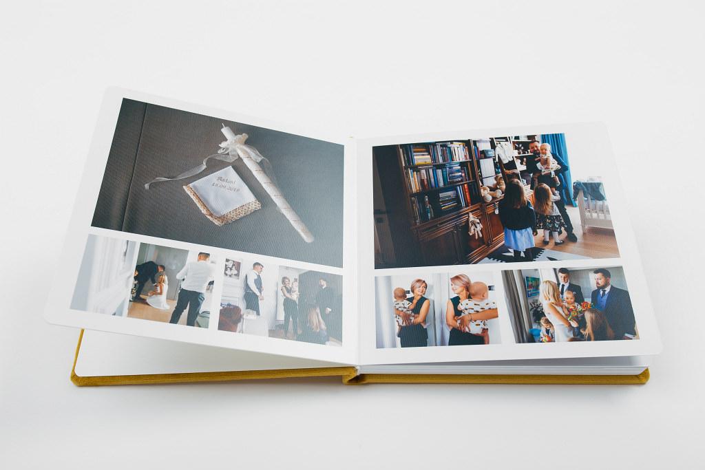 Piękny album z chrzcin Antoniego, w aksamitnej oprawie. Na zdjęciach i filmie. 17