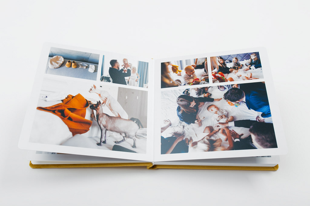 Piękny album z chrzcin Antoniego, w aksamitnej oprawie. Na zdjęciach i filmie. 18