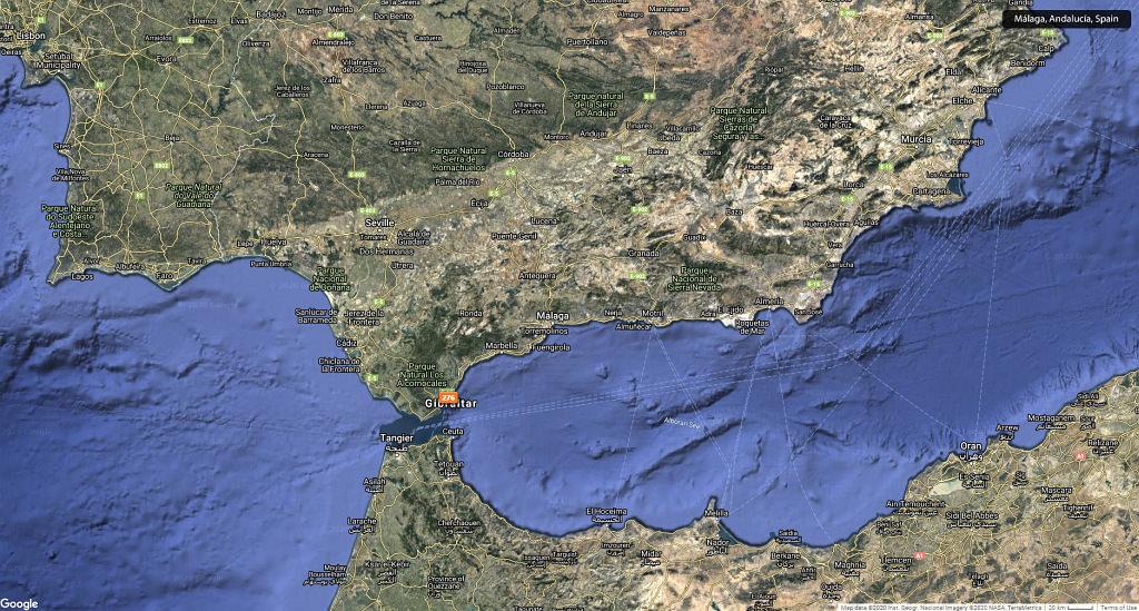 #16 Leisure Time In ... Hiszpania | Andaluzja (Malaga, Ronda, Benalmadena) | Gibraltar 69