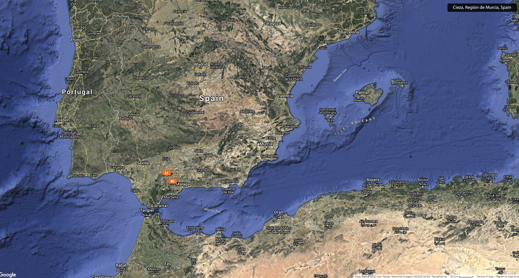 #16 Leisure Time In ... Hiszpania | Andaluzja (Malaga, Ronda, Benalmadena) | Gibraltar 117