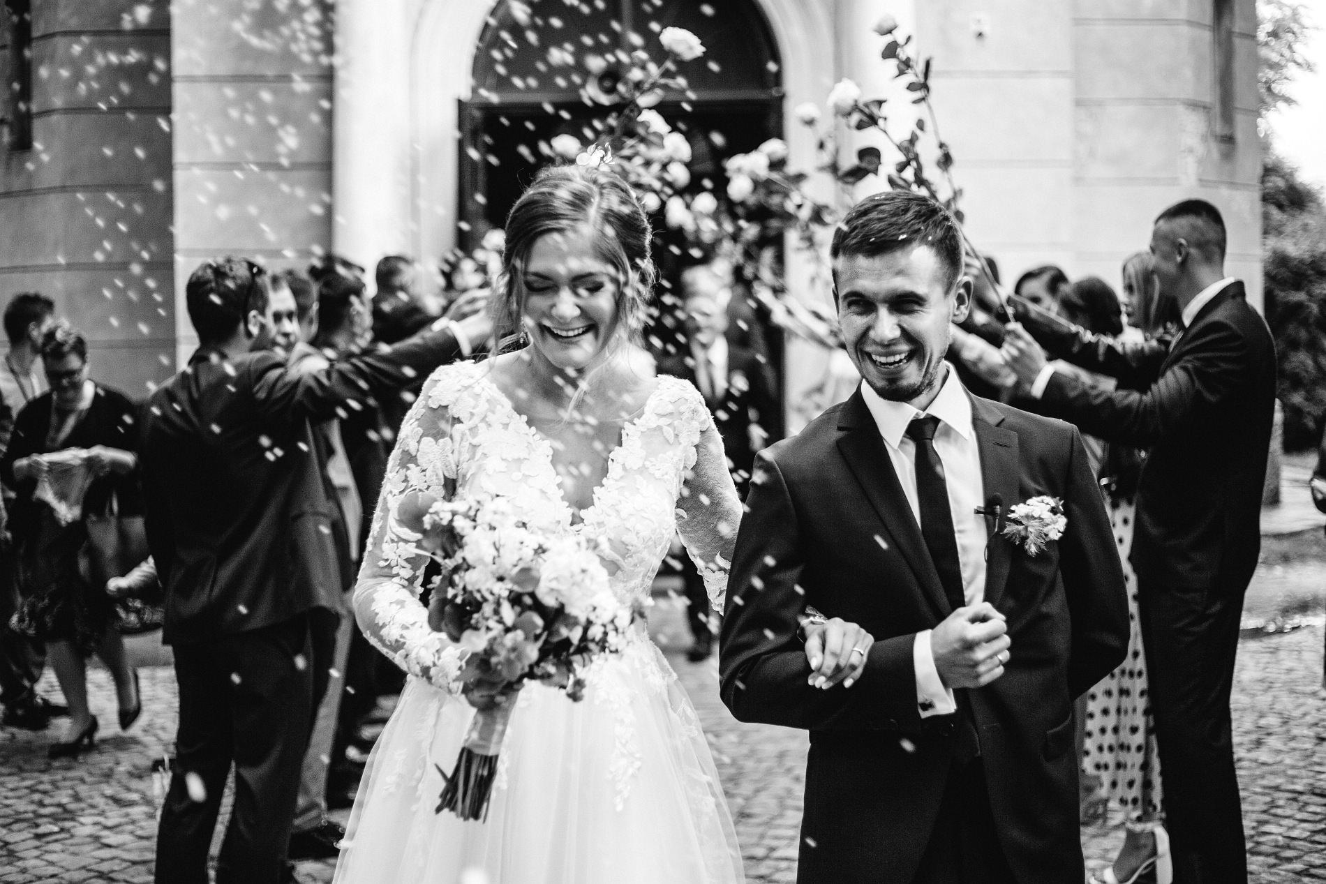 Marta & Kamil | Sala Weselna Rybaczówka | Reportaż ślubny Otwock
