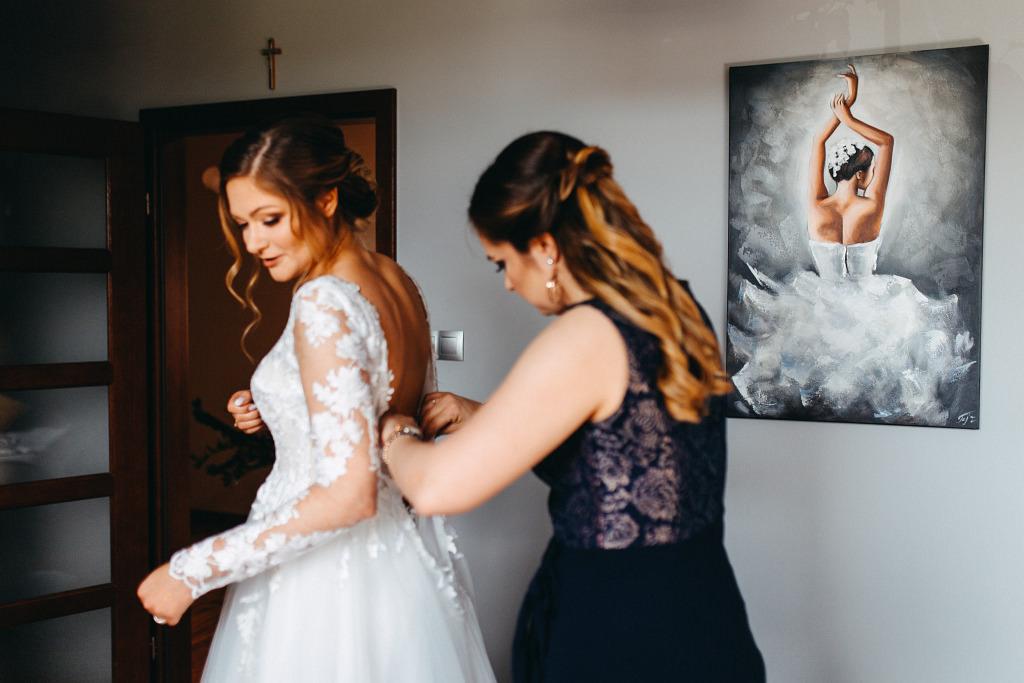 Marta & Kamil | Sala Weselna Rybaczówka | Reportaż ślubny Otwock 8
