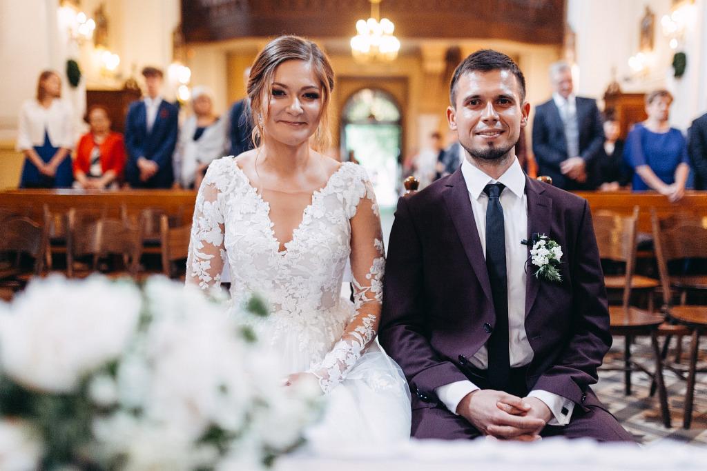 Marta & Kamil | Sala Weselna Rybaczówka | Reportaż ślubny Otwock 27