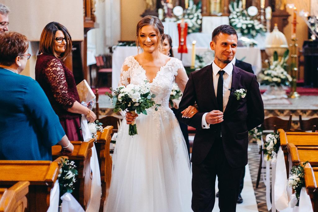 Marta & Kamil | Sala Weselna Rybaczówka | Reportaż ślubny Otwock 30