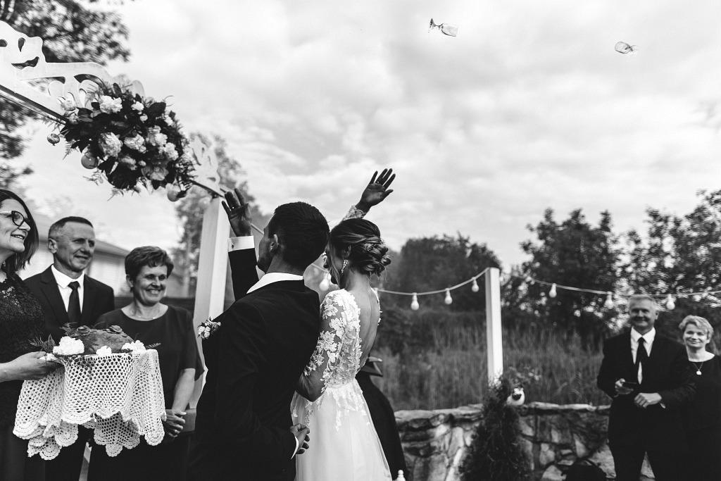 Marta & Kamil | Sala Weselna Rybaczówka | Reportaż ślubny Otwock 47