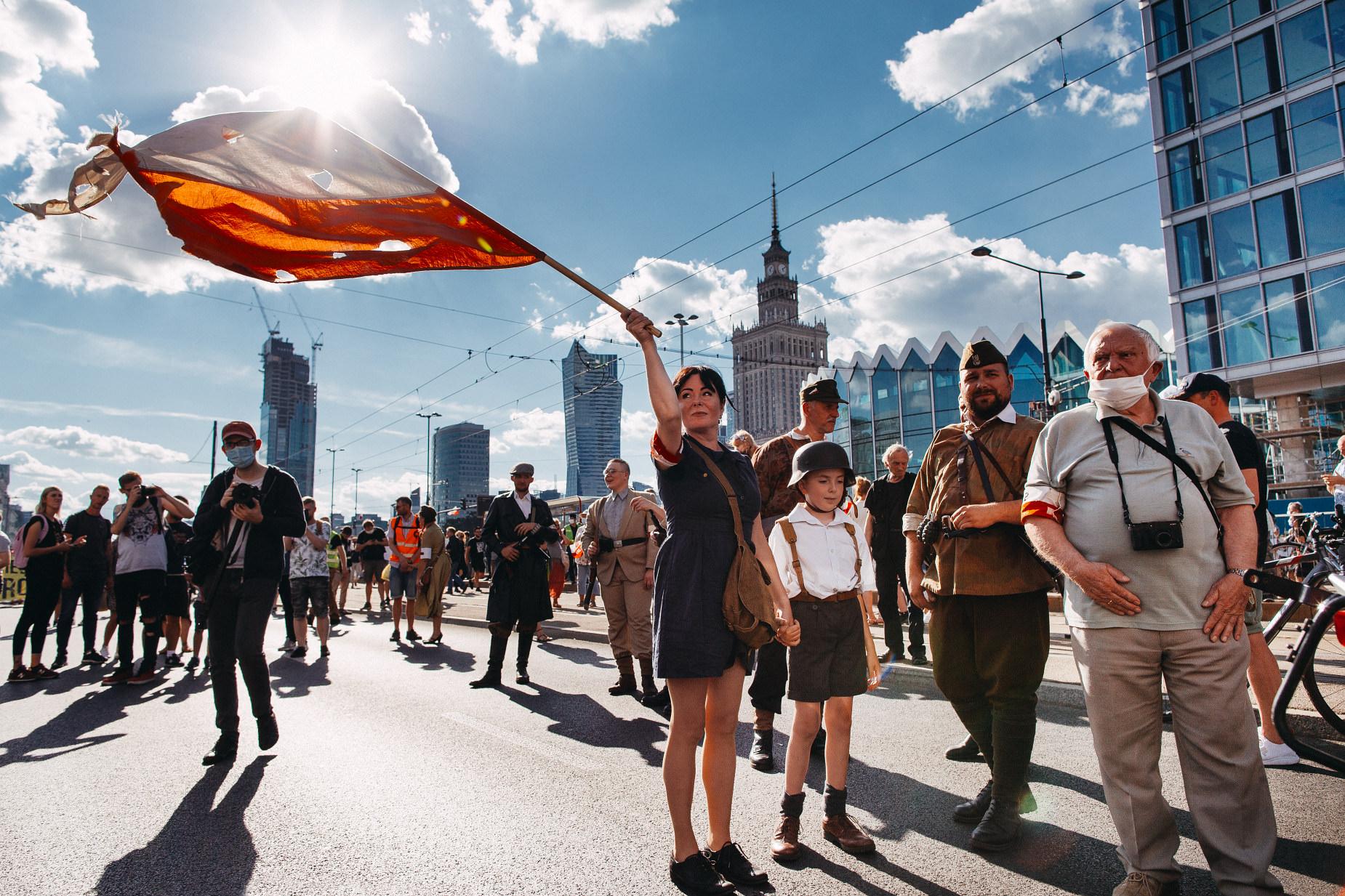 Powstanie Warszawskie | 76 rocznica wybuchu | Warszawa (2020)
