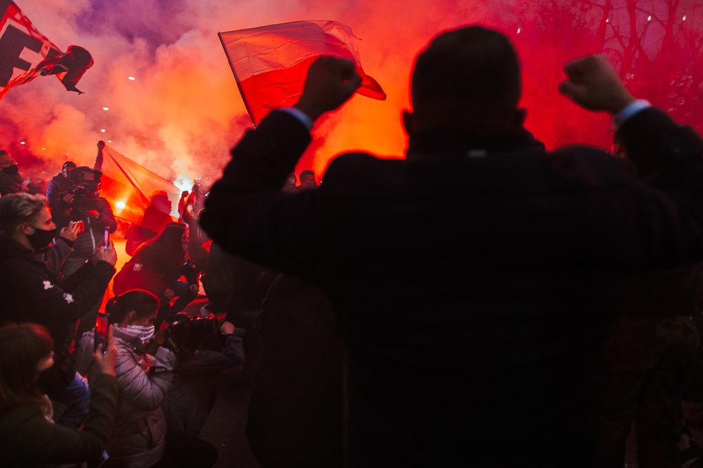 11 listopada 2020, 102 rocznica odzyskania niepodległości. Powstańcy. Marsz Niepodległości. 33