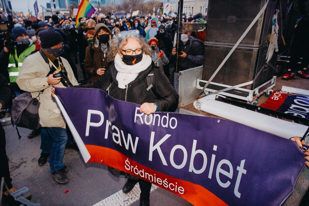 Strajk Kobiet 28.11.2020 Warszawa 2