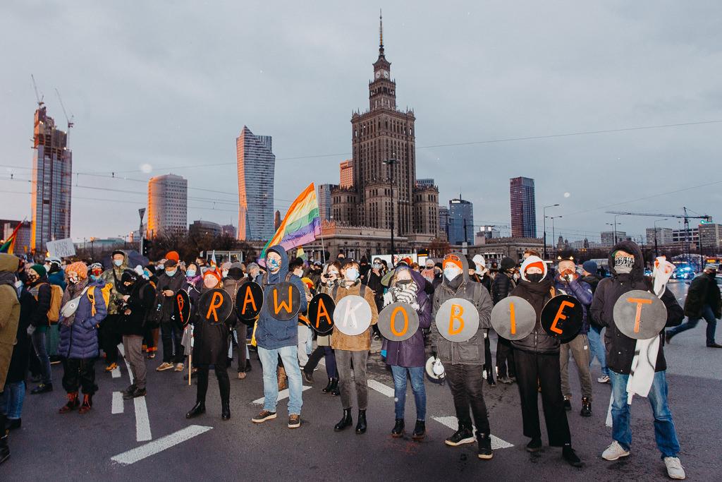 Strajk Kobiet 28.11.2020 Warszawa 5
