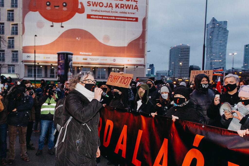 Strajk Kobiet 28.11.2020 Warszawa 11