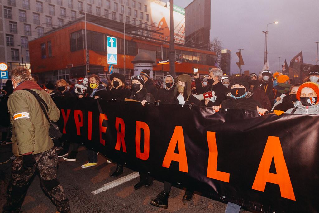 Strajk Kobiet 28.11.2020 Warszawa 16
