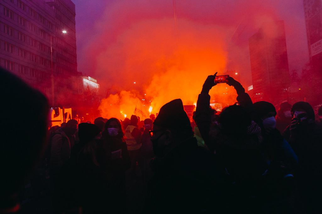 Strajk Kobiet 28.11.2020 Warszawa 18