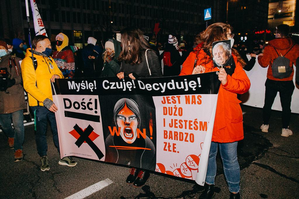 Strajk Kobiet 28.11.2020 Warszawa 23