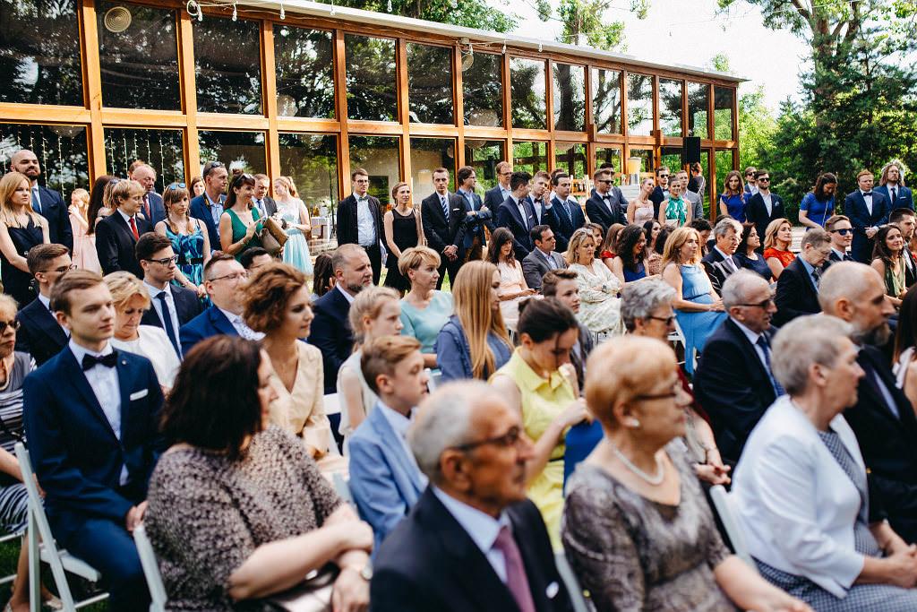 Kamila & Wojtek | Pomiechówek Zacisze Anna Korcz | Zdjęcia ślubne | Ślub plenerowy 36