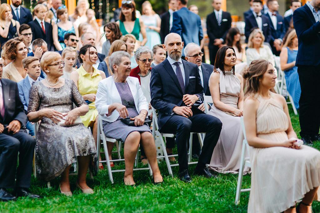Kamila & Wojtek | Pomiechówek Zacisze Anna Korcz | Zdjęcia ślubne | Ślub plenerowy 48
