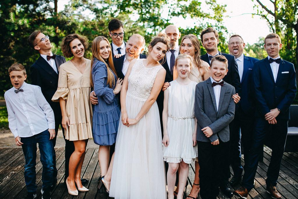 Kamila & Wojtek | Pomiechówek Zacisze Anna Korcz | Zdjęcia ślubne | Ślub plenerowy 81