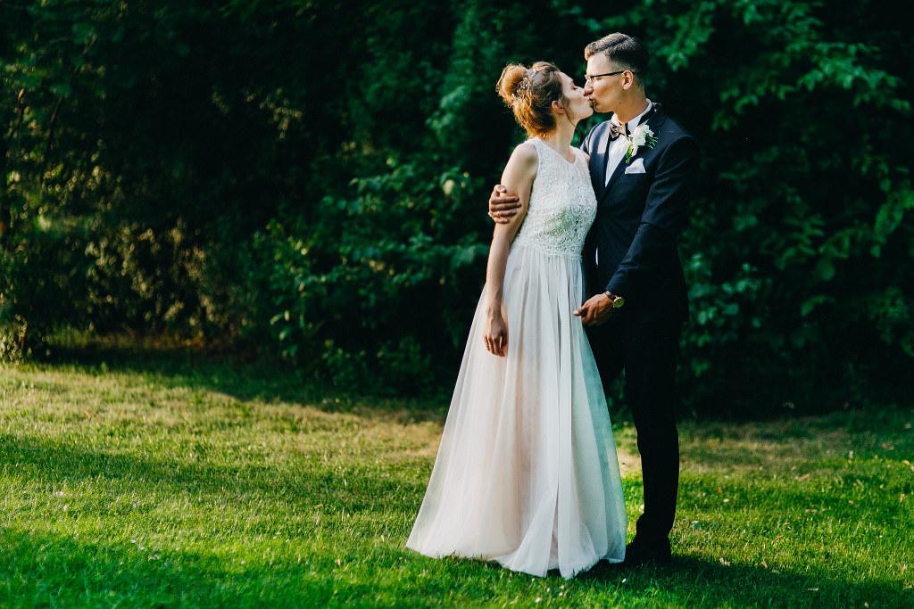 Kamila & Wojtek | Pomiechówek Zacisze Anna Korcz | Zdjęcia ślubne | Ślub plenerowy 94
