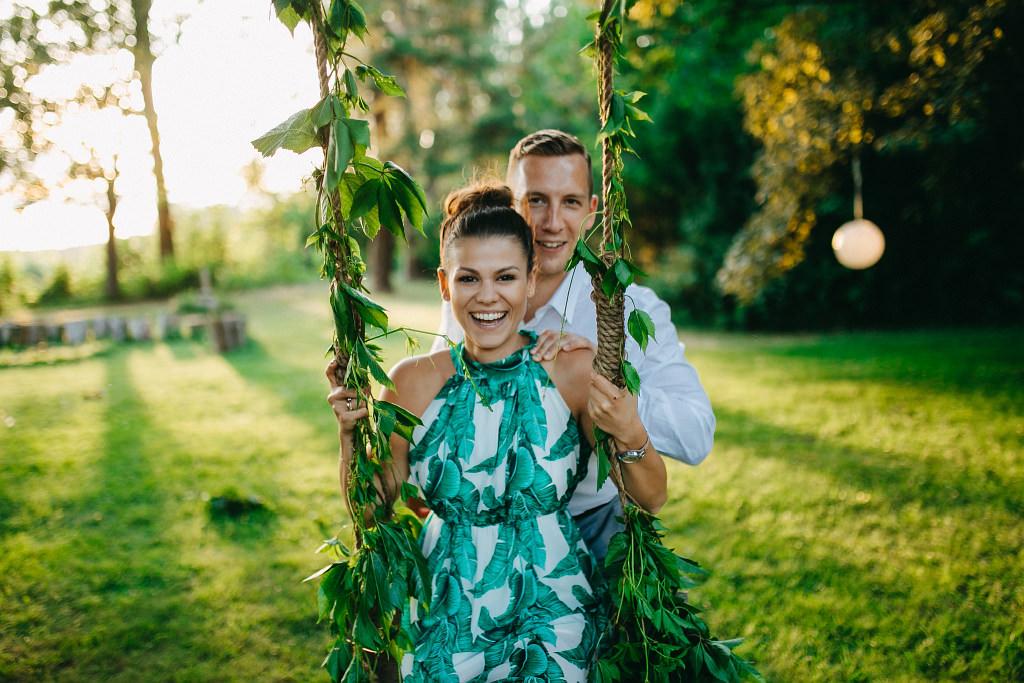 Kamila & Wojtek | Pomiechówek Zacisze Anna Korcz | Zdjęcia ślubne | Ślub plenerowy 106