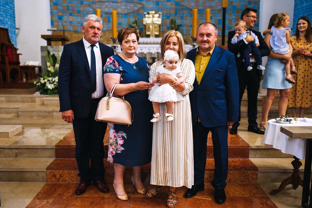 Zosia | chrzciny Warszawa | chrzest Willa Brzegi Józefów 46